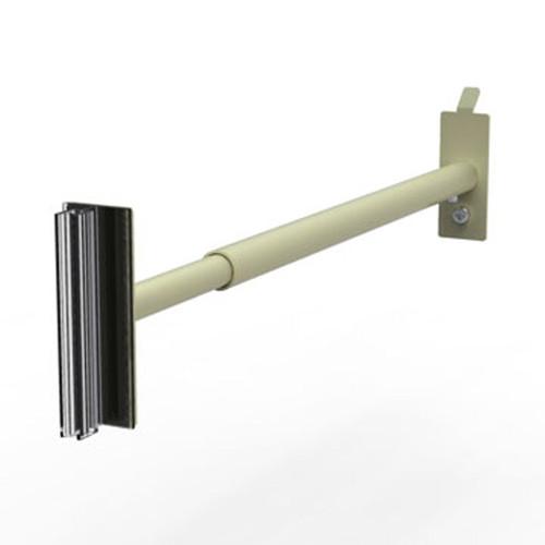 Aisle Violator-Telescoping Merchandising Arm for Uprite