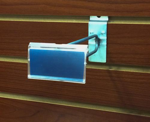 Flip Scan Slatwall Hook