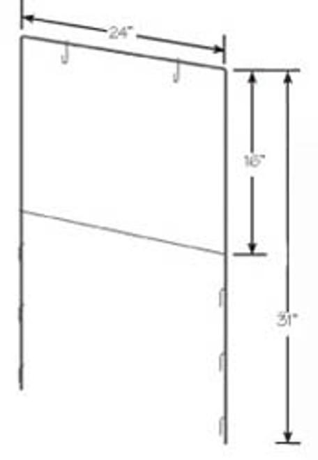 Adjustable Sign Holder for Wire & Tubular Displays