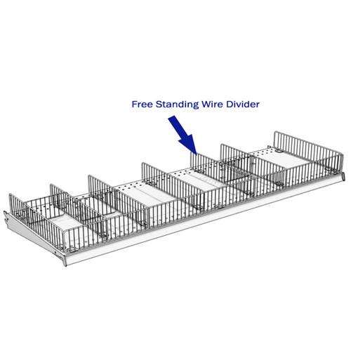 Free Standing Wire Divider