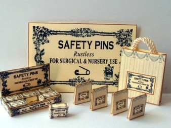Download - Safety Pin Display Stand set