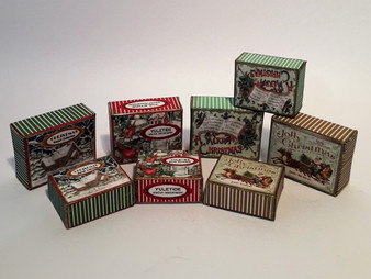 Download - 8 Christmas Cookie/Biscuit Boxes
