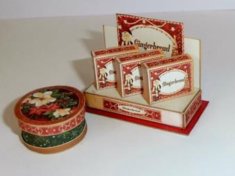 kit - Gingerbread Box Shop Display