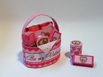 Download - Valentines Pamper basket - pink