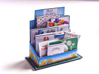 KIT-Easter Card Display - modern