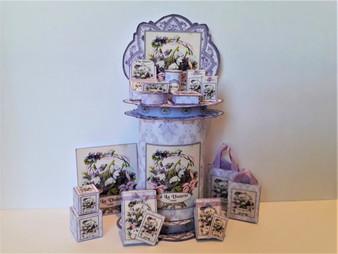 Download - A la Violette Perfume Display Stand