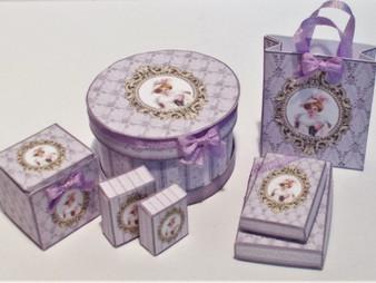Download  - Lady Delphine Presentation Box & Bag Kit