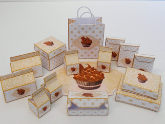 Kit -  Chocolate Cup Cake Kit- Bakery/Sweet Shop/Confectionery