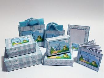 Kit - Frog & castle Boxes & bags, album & photo frame