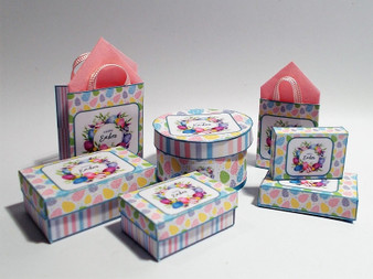 Kit - Easter pastel Boxes & Bags #2