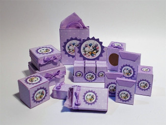 Kit - Easter Boxes - Lilac - Bunny