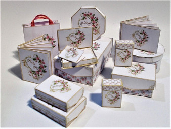 Kit  - Mr & Mrs Wedding boxes, stationery,albums & more