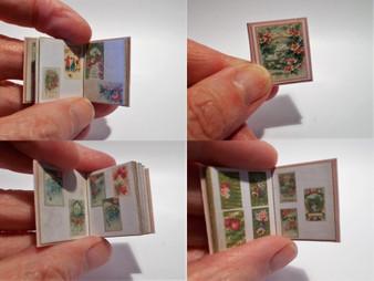 Victorian Scrap/Greetings card Album No5