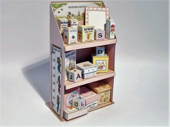 Download  - Child's Bookcase - Pinks