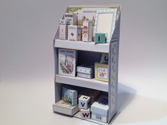 Download  - Child's Bookcase - Blues