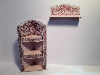 Download  - Pink/lilac Shelving set