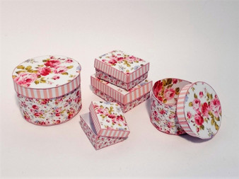 Download - Pink Shabby Chic Boxes