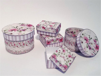 Kit - Lilac Shabby Chic Boxes