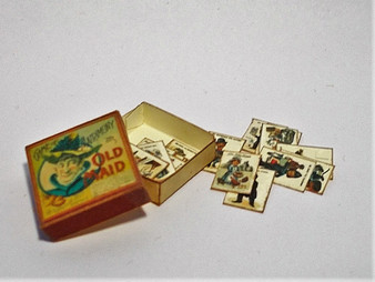 Vintage Board Game - Old Maid