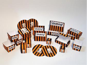 Download - Halloween Candy - Orange stripe