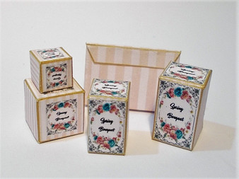 Download - Spring Bouquet Toiletry Boxes