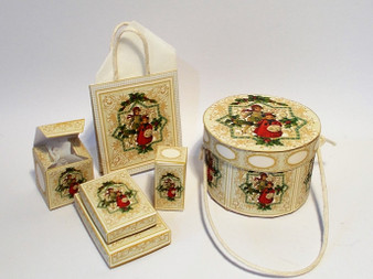 Kit - Christmas Vintage Gold