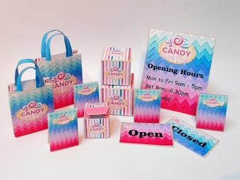 Download - Candy Shop Display Boxes