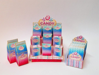 Download - Candy Shop Counter Stand & Display Boxes