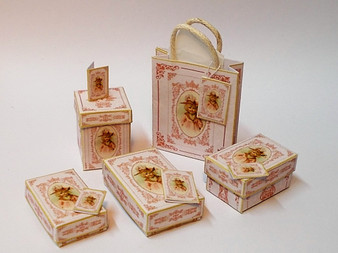 Kit - Little Girl's Boxes & Bags - Abigail