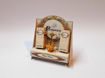 Hat Pin Display Stand - Gold