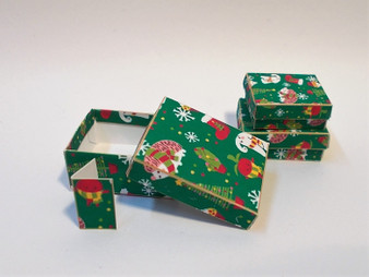 Download - Christmas Seasonal Boxes - Green