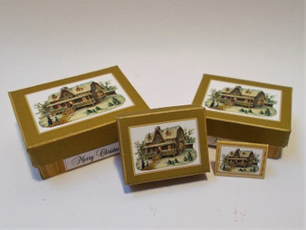 Download - Christmas Gift Boxes - Gold