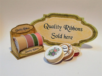 Kit - Quality Ribbons Display Stand & 8 ribbon reels