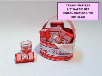 Download -1:6 Valentine Red Pamper Box