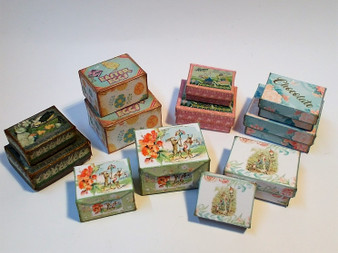 Kit - Vintage Easter Boxes