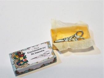 Box of Embroidery scissors