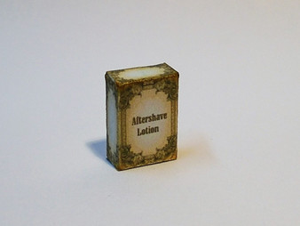 Men's Cologne/aftershave Box Vintage style #1