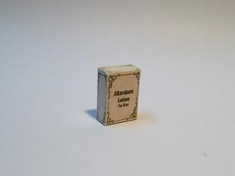 Men's Cologne/aftershave Box Vintage style #2