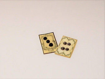 Mourning Button Cards 2