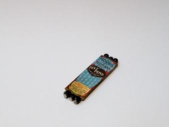 Hat pin/Toilet Pin Tablet No4