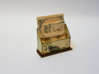 Letter Stand with stationery No1