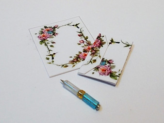 Writing set with pen, letter, envelope No1