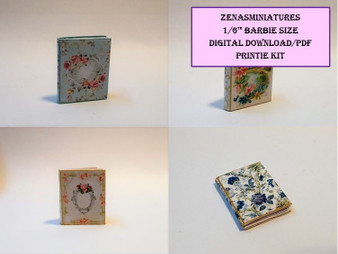 Download - 1:6 Notebook/Diary/albums - set of 4