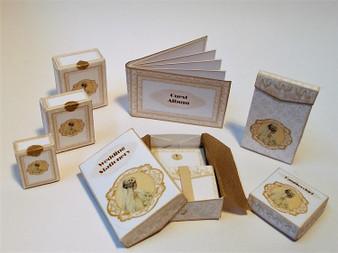 Kit - Wedding Boxes No1 - Gold Theme
