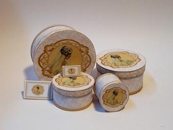 Kit - Wedding Boxes No3 - Gold Theme