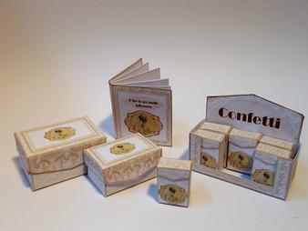 Kit - Wedding Boxes No4 - Gold Theme
