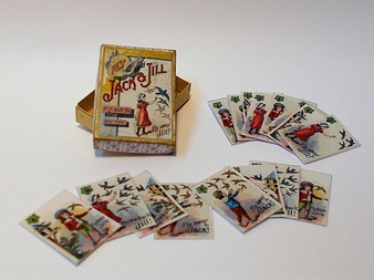 Vintage card Game - Jack & Jill