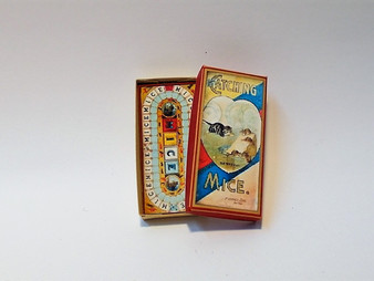 Vintage board Game - Catching Mice