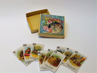 Vintage card Game - Puss in the Corner 1