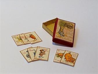Vintage card Game - Alice in Wonderland
